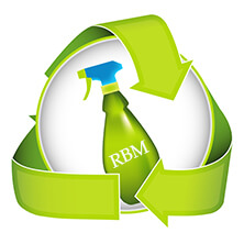 recycle green cleaning graphic
